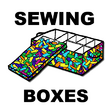 Make Sewing Boxes for a Present Gift for Mom on Mother's Day Craft