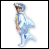 How   to Make a Fish Costume : Shark Costume Pattern  : Shark Crafts Ideas for Kids