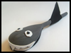 Wooden    Spoon Shark   : Shark Crafts Activities for Children