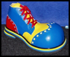 Clown   Shoes  : Shoe Crafts Ideas for Kids
