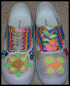 Decorated   Canvas Shoes   : How to Decorate Your Shoes Activities for Kids