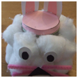 Easter Bunny Treat Jar Project Craft for Kids