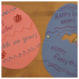 Surprise Easter Egg Card with Flower Seeds Crafts Project Card Craft for Kids