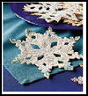 Snowflakes Paper Cutting Crafts for Kids
