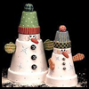 Snowmen    Duo  : Snowman Crafts for Kids