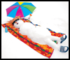 Beach    Bum Snowman    : Winter Snowman Craft Ideas
