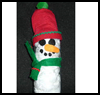 Indoor    Snowman   : Snowmen Crafts for Children