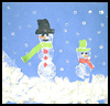 Snowman    Craft  : Snowman Crafts for Kids