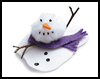 Melty    The Snowman     : Christmas Snowman Craft Activities