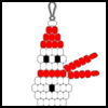 Beadie<br />  Snowman  : Snowman Crafts for Kids