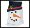Snowman    .pngt Bag     : Christmas Snowman Craft Activities