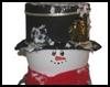 Coffee<br />  Creamer Snowman