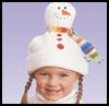 Snowman    Hat     : Christmas Snowman Craft Activities