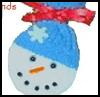 Cotton<br />  Snowman