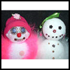 Glamorous    Snow Girls   : Snowmen Crafts for Children