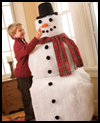 Frost-Free    The Snowman     : Christmas Snowman Craft Activities