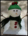 Never-Melt    Snowman   : Snowmen Crafts for Children