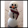 Styrofoam    Snowman   : Snowmen Crafts for Children