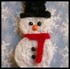 Chenille<br />  Snowman