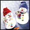 Friendly<br />  Sock Snowman
