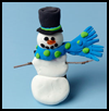 Stick    Up Snowman Magnet  : Snowman Crafts for Kids