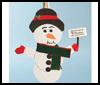 Acrylic<br />  Snowman