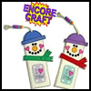 Snowmen    Bookmarks  : Snowman Crafts for Kids
