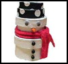 Snowman    Figure    : Winter Snowman Craft Ideas