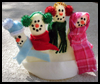 Snow    Family Finger Puppets   : Snowmen Crafts for Children