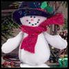 Felt<br />  Snowman