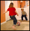 <strong>Bed Sheet Soccer Goal  : Soccer Crafts Ideas for Kids</strong>