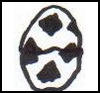 Soccer   Ball  : Soccer Crafts Ideas for Kids