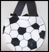 Soccer   Ball Bag  : Soccer Crafts Activities for Children