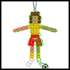 Pony   Bead Soccer Player  : Soccer Crafts Ideas for Kids