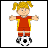 Soccer   Friend  : Soccer Crafts Ideas for Kids