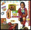 Team   Spirit Poster  : Soccer Crafts Activities for Children