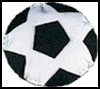 Soccer   Pillow  : Soccer Crafts Activities for Children