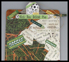 Soccer   Clipboard  : Soccer Crafts Activities for Children
