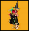 Fridge   Watching Witch  : Spooky Halloween Crafts for Kids