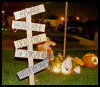 Spooky   Yard Stake  : Spooky Arts and Crafts Ideas
