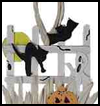 Spooky   Fence Decoration   : Creepy Halloween Crafts for Children