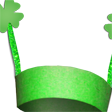 St. Patrick's Day Crafts Project Card Craft for Kids