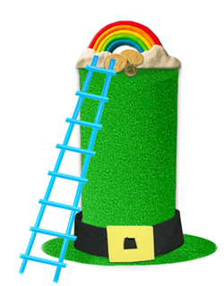ST. PATRICK'S DAY LEPRECHAUN TRAP CRAFT : Saint Patrick's Day Arts and Crafts Ideas for Kids