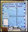 Activities   on the Cartesian Plane  : Ideas for Designing School Bulletin Boards