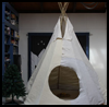 Make A Super Cool Tipi Fort Using Recycled Materials