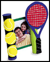 Father's   Day Frame  : Tennis Crafts Ideas for Kids