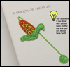 Ear    of corn bookmark