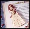 Cornelia      the Corn Husk Bookmark   : Thanksgiving Corn Crafts Activities for Children
