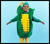 Corn   on the Cob Costume  : Corn Crafts Projects for Thanksgiving