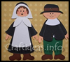 Pilgrim   Couple  : Crafts with Pilgrims